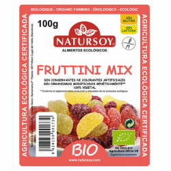 GOMINOLAS FRUTTINI MIX NATURSOY