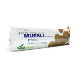 Galleta Integral Con Muesli Crujiente Soria Natural