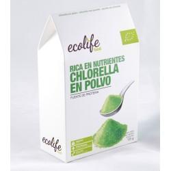 CHLORELLA POLVO ECOLÓGICA 125 GR ECOLIFE