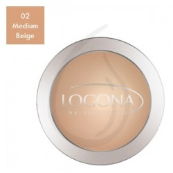Maquillaje Polvo Compacto 02 Logona