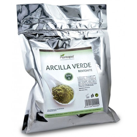 ARCILLA VERDE 500 GR PLANTAPOL