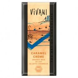 CHOCOLATE LECHE CARAMELO ECOLÓGICO 100 gr VIVANI