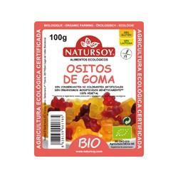 GOMINOLAS OSITOS  NATURSOY