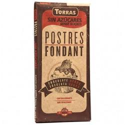 Chocolate Postres Fondat 200g S/Azucar Torras