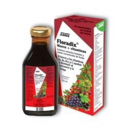 FLORADIX hierro+vitaminas 250 ml SALUS