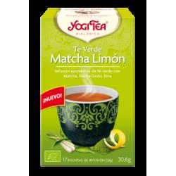 Yogi Tea Te Verde Matcha Al Limon