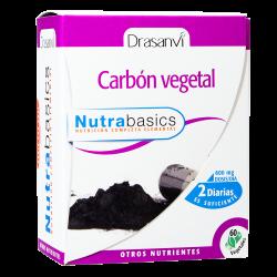 Carbon Vegetal 60cap Nutrabasics Drasanvi