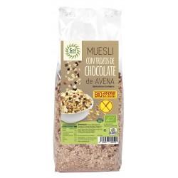 Muesli Con Chocolate Y Avena Bio Sin Gluten Solnatural