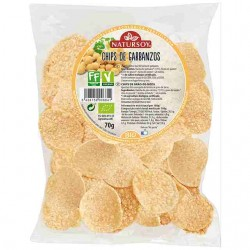 CHIPS DE GARBANZOS NATURSOY