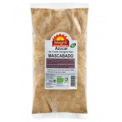 AZÚCAR DE CAÑA INTEGRAL MASCABADO BIOGRÁ