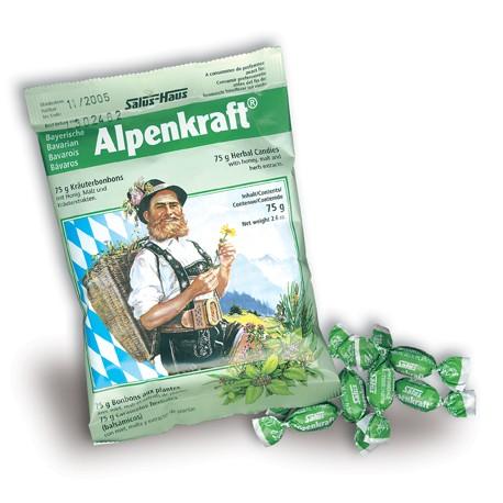 CARAMELOS ALPENKRAFT 75 gr SALUS
