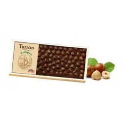 TURRÓN DE CHOCOLATE CON AVELLANAS SOLÉ
