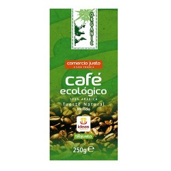 CAFÉ ECO 100% ARABICA COMERCIO JUSTO ALTERNATIVA