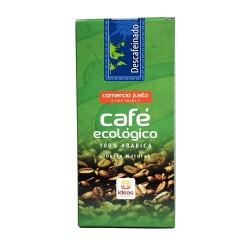 Café Descafeinado Ecológico Comercio Justo