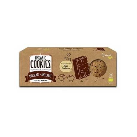 COOKIES ORGÁNICAS CHOCOLATE & AVELLANAS ZEALIA
