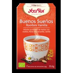 Yogi Tea Buenos Sueños Rooibos Vainilla Ecológico