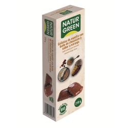 Galletas Espelta Con Baño Baño De Chocolate Y Naranja Bio Naturgreen
