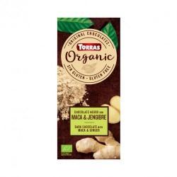 CHOCOLATE CON MACA & JENGIBRE BIO TORRAS (sin gluten)