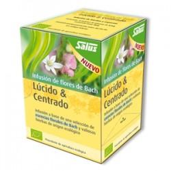 INFUSION FLORES BACH LUCIDO&CENTRADO SALUS