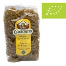 Espirales Kamut Integral Ecológico 500 Gr Castagno