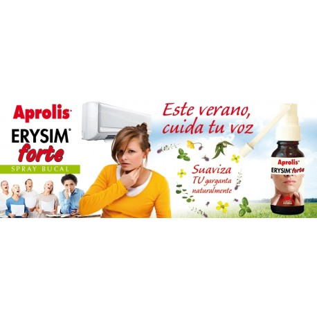 ERYSIM FORTE APROLIS SPRAY BUCAL 20 ml INTERSA