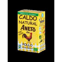 CALDO NATURAL DE POLLO ECOLÓGICO PROMO 50% + ANETO
