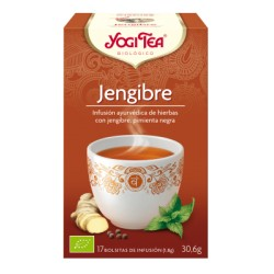 Yogi Tea Jengibre Ecológico