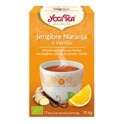 Yogi Tea Jengibre Naranja Y Vainilla Ecológico Yogi Tea