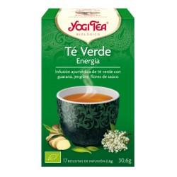 Yogi Tea Té Verde Energía Ecológico