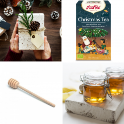 ECO-CAJA CHRISTMAS TEA + MIEL INÉS CON PALITO