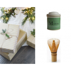 ECO-CAJA REGALO MATCHA BASIC