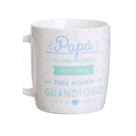 """TAZA FRASE ESPECIAL """"PAPÁ ES UNA PALABRA MUY ...."""""""