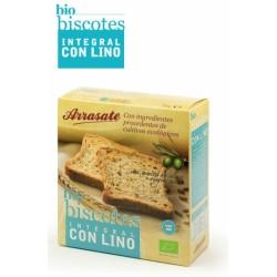 Biscote Integral Lino Bio 270 Gr Arrasate