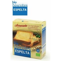 BISCOTES ESPELTA ECOLÓGICOS 270 gr ARRASATE