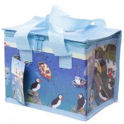 Bolsa Refrigerante - Diseño Costero y Frailecillo - Jan Pashley