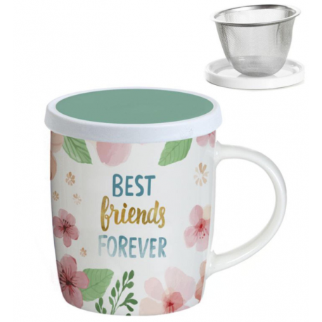 "TAZA INFUSIÓN ""BEST FRIENDS FOREVER"""
