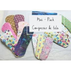 MINI PACK COMPRESAS DE TELA