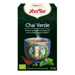 Yogi Tea Chai Verde Ecológico
