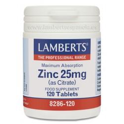 ZINC 25mg LAMBERTS