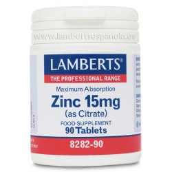 ZINC 15 MG - LAMBERTS