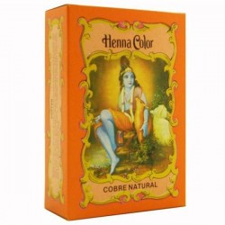 HENNA COLOR COBRE NATURAL ECO 100g RADHE SHYAM