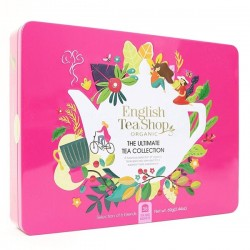 CAJA METALICA INFUSIONES ENGLISH TEA SHOP ORGANIC
