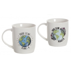 "TAZA MUG FRASE ""THERE IS NO PLANET B"""
