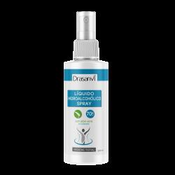 Liquido hidroalcohólico con aloe vera en spray 300ml