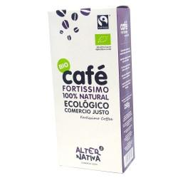 CAFÉ FORTÍSIMO NATURAL ECOLÓGICO - ALTERNATIVA