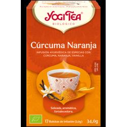Infusión Cúrcuma Naranja - Yogi Tea