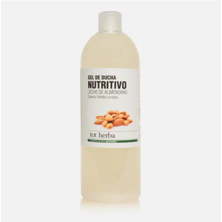 Gel de Ducha Nutritivo Leche de Almendras 1000 ml - Tot Herba