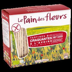 Tostadas crujientes con avena - Le Pain des fleurs