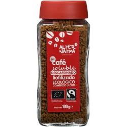 Café soluble Descafeinado liofilizado Ecológico - Alternativa