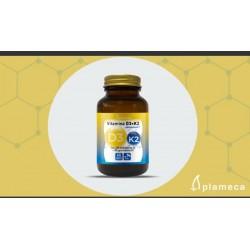 Vitamina D3+K2 Plameca